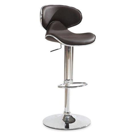 tabouret de bar chocolat achat vente tabouret de bar mati 232 re du rev 234 tement simili