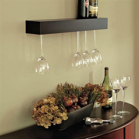 wine glass rack cool wall mounted wine glass holder homesfeed