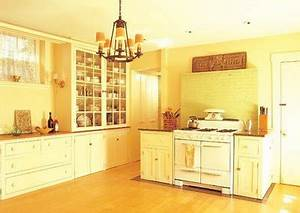 painting kitchen walls shades of yellow interior With kitchen colors with white cabinets with panoramic canvas wall art
