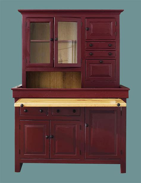 Antique Hoosier Cabinet by Large Pine Hoosier Cabinet Usa Made Antique Reproduction