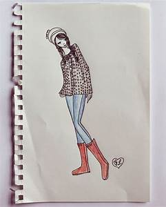 Autumn Clothing Collection Sketches - A Beautiful Mess