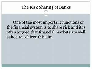 Role of banks in financial market