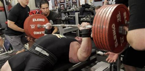 The Aftermath Of The World Record Bench Press Attempt (2 Pics