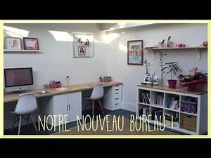 Créer Son Bureau Ikea : diy notre nouveau bureau ikea hack d co ~ Melissatoandfro.com Idées de Décoration