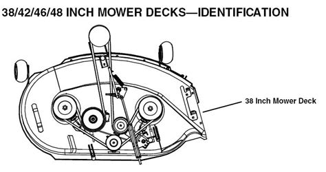 i need to know how to replace the mower deck belt on a john