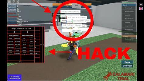 hack roblox  mac working  calamari