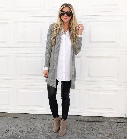 Business Casual - Chic Leggings Outfits You Can Actually Wear To Work - Livingly