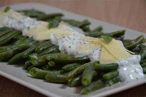 cuisiner les haricots verts frais salade de haricots verts et sa sauce au fromage blanc