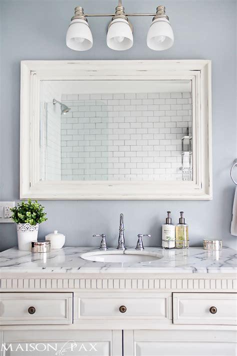 small bathroom mirror ideas 10 tips for designing a small bathroom maison de pax
