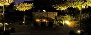 illumination licht im garten zinsser gartengestaltung With garten planen mit außenbeleuchtung weihnachten balkon