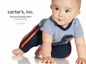 Carter's, Inc. 2017 Q2 - Results - Earnings Call Slides ...