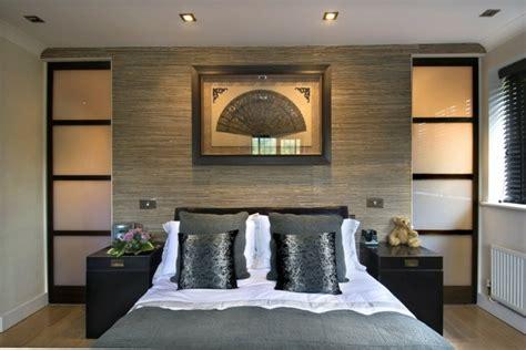 d馗oration porte de chambre décoration de chambre 55 idées de couleur murale et tissus