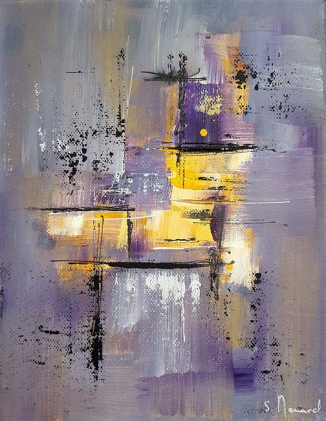tableaux peinture moderne acrylique