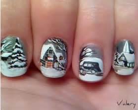 Pics photos and fun winter nail art design idea with