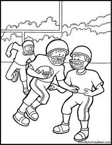 Printable Coloring Pages Sports Football