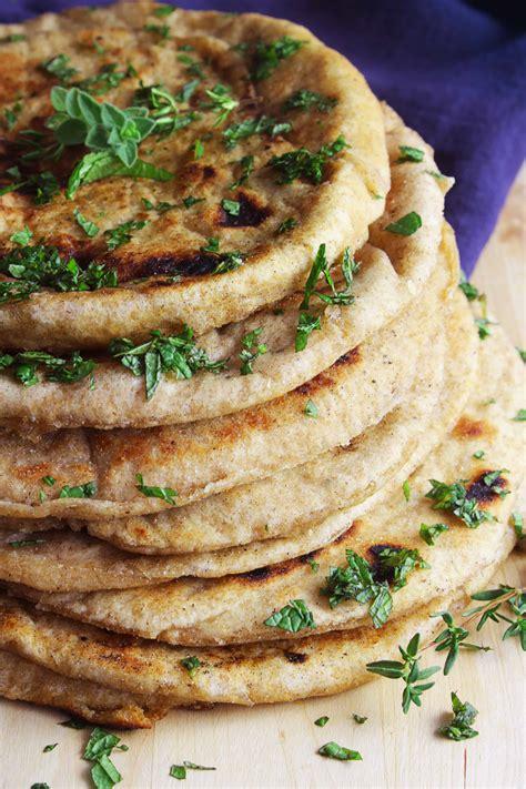 GREEK WHOLE WHEAT PITA BREAD - 30 days of Greek food