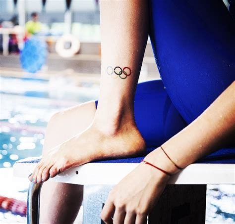 coolest tattoos spotted  olympic athletes glamour