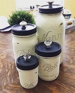 Mason Jar Canisters Crafting Issue