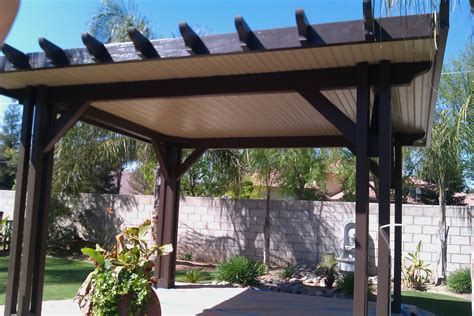 lapham construction stand alone garden patio cover in