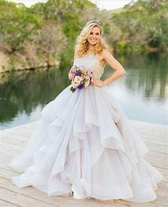 hot selling 2016 white ball gown wedding dresses scoop With organza ball gown wedding dress