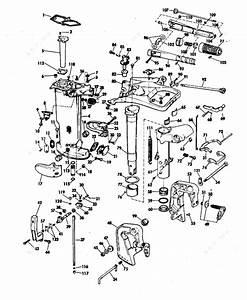 Evinrude 1976 25 - 25602e  Exhaust Housing