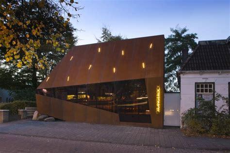 Cortenstahl Fassade Befestigung by Cortenstahl Fassade Fassadenverkleidung In Edelrost Optik