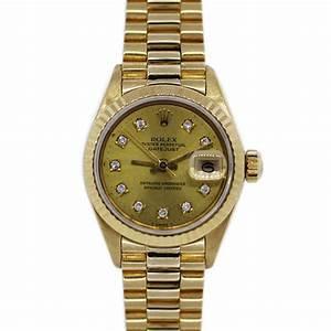 Rolex Presidential 6916 18k Yellow Gold Ladies Watch ...