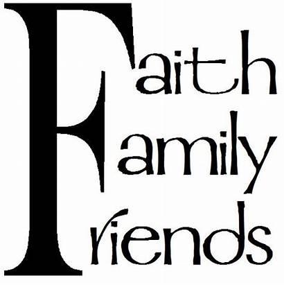 Clipart Faith Friends Quotes Clip Friend Cliparts