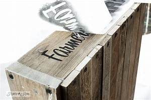 how to stencil featuring a pallet wood cratefunky junk With painting stencil letters on wood