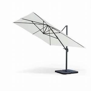 Parasol Rectangulaire Pas Cher : parasol d port rectangulaire 3x4m ~ Dailycaller-alerts.com Idées de Décoration