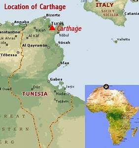 CARTHAGE - MAP | África | Pinterest | Imperio romano ...