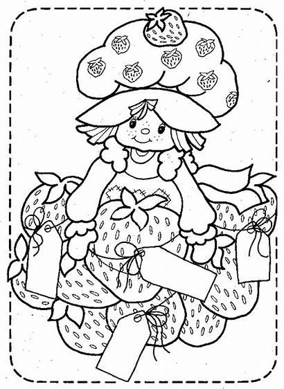 Strawberry Shortcake Coloring Mewarnai Gambar Kartun Belajar