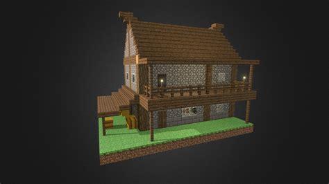 minecraft custom house    model