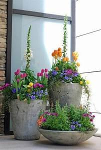 Blumenkübel Bepflanzen Sommer : kreative ideen f r blument pfe in ihrem garten ~ Eleganceandgraceweddings.com Haus und Dekorationen