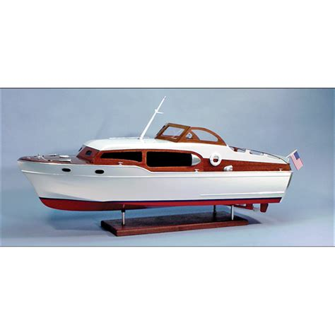Chris Craft Wooden Boat Model Kits by 1954 Chris Craft Commander Express Cruiser Wooden Boat Kit
