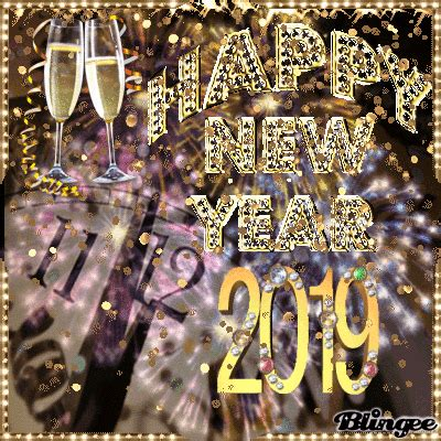 3D Golden Happy New Year 2019 Pictures Photos and Images