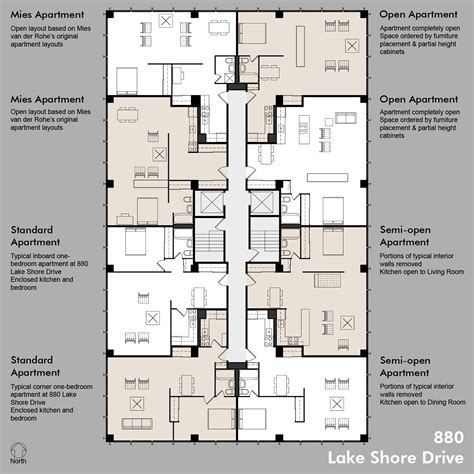 floor plans apartment apartments accurate floor plans of 15 famous apartments