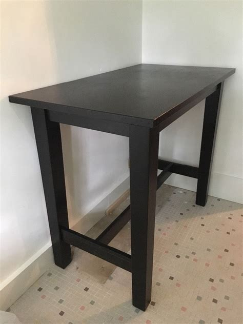 ikea storn 228 s bar table and 2 henriksdal bar chairs in