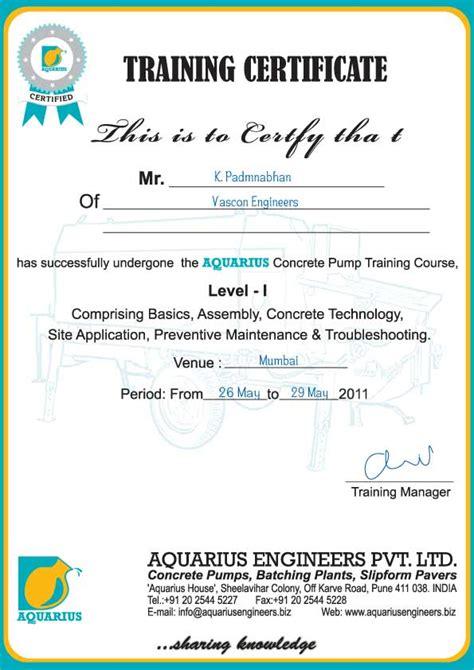 pin inplant training certificate format pdf on pinterest