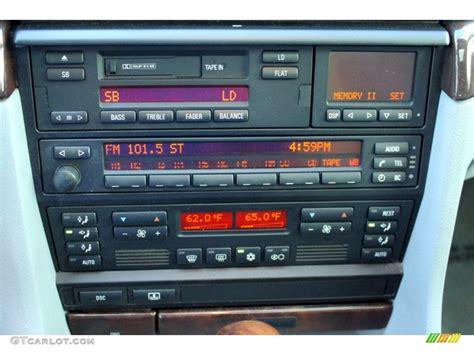 on board diagnostic system 1998 bmw 7 series electronic throttle control 1998 bmw 7 series 740il sedan controls photo 74852730 gtcarlot com