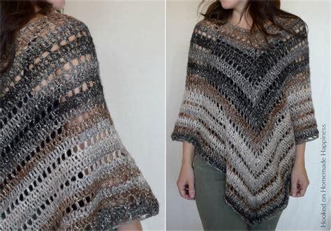 #desertlife Crochet Poncho Pattern