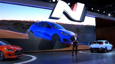 Hyundai Surprises Detroit With N Performance Brand Arrival