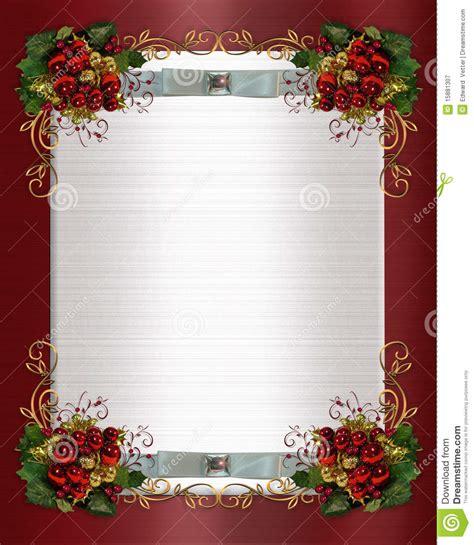 christmas  winter wedding border royalty  stock