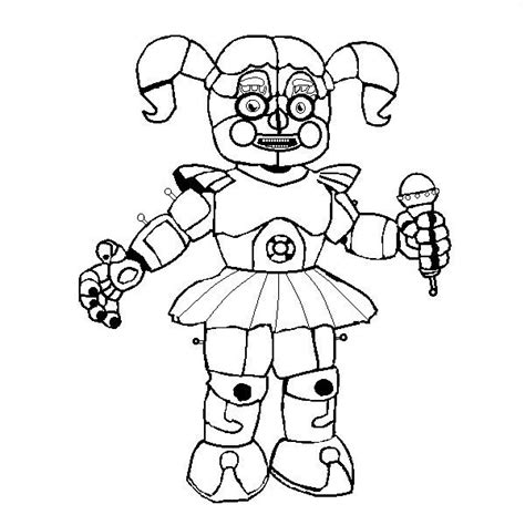 Naf Sister Location Coloring Pages Wiring Diagram