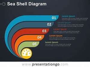 Sea Shell Diagram For Powerpoint