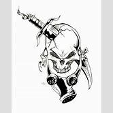 graffiti-characters-gas-mask-skull