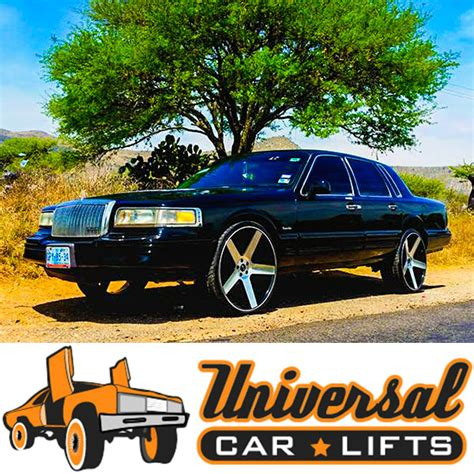 lincoln town car lift kit