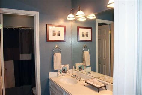 boys bathroom mercer blue by eddie bauer valspar