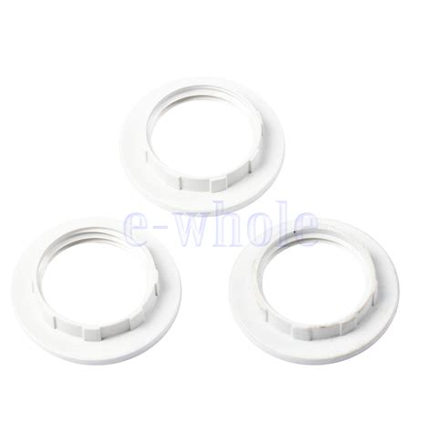 L Shade Adapter Ring by 3 6pcs Black Or White Light Shade Collar Ring Adaptor