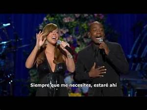 Mariah Carey I39ll Be There Memorial Michael Jackson
